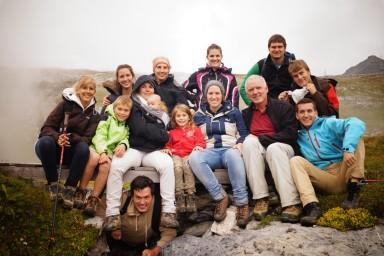 Familienurlaub in der Schweiz 2014