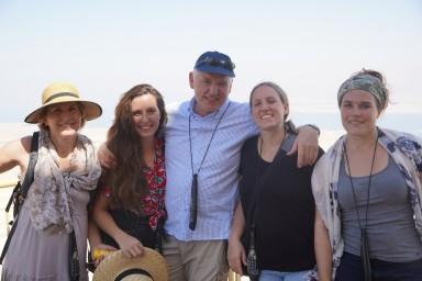 Mit unseren Töchtern auf Massada / Israel 2019